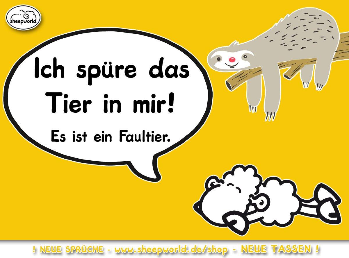 Sheepworld Twitterissä Guten Morgen Wecke Das Faultier