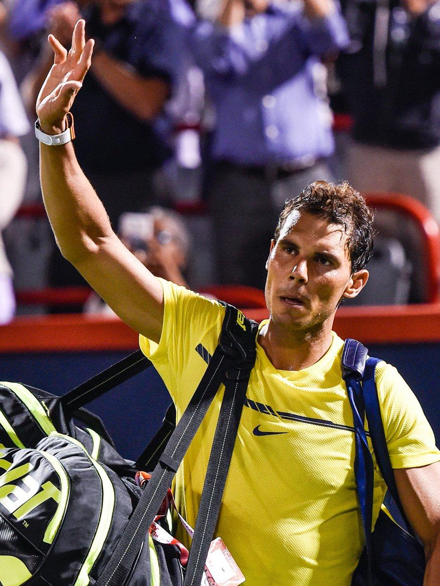 test Twitter Media - ⚠️ #tennis Coup de tonnerre à Montréal avec l'élimination de @RafaelNadal par @denis_shapo en 8èmes. @nadal ne sera pas n°1 mondial lundi 🔥 https://t.co/nZhZ2ZsONQ