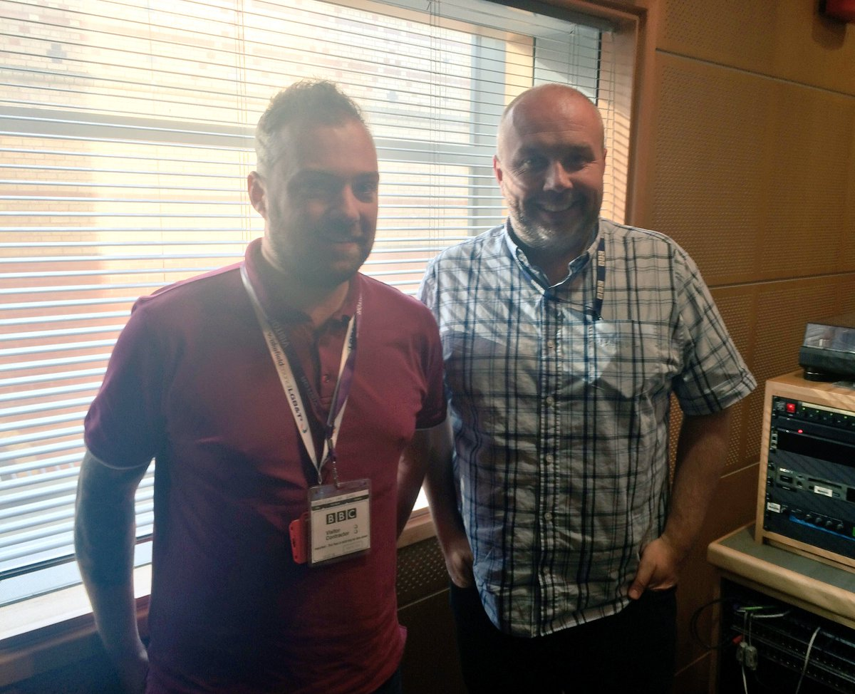 Now @RichardStead: Richard is joined by @CllrRyanCase, LGBT Champion at Wakefield Council, ahead of this weekend&#39;s #WakefieldPride <br>http://pic.twitter.com/dsoG0701rH