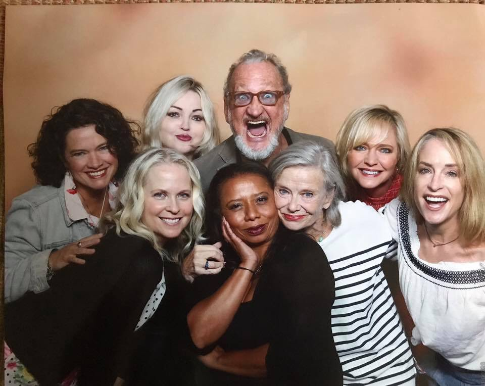 #tbt- almost a #fbf- Ladies and a gent  from a little franchise you might know ❤️ https://t.co/PTHwW2uY1T