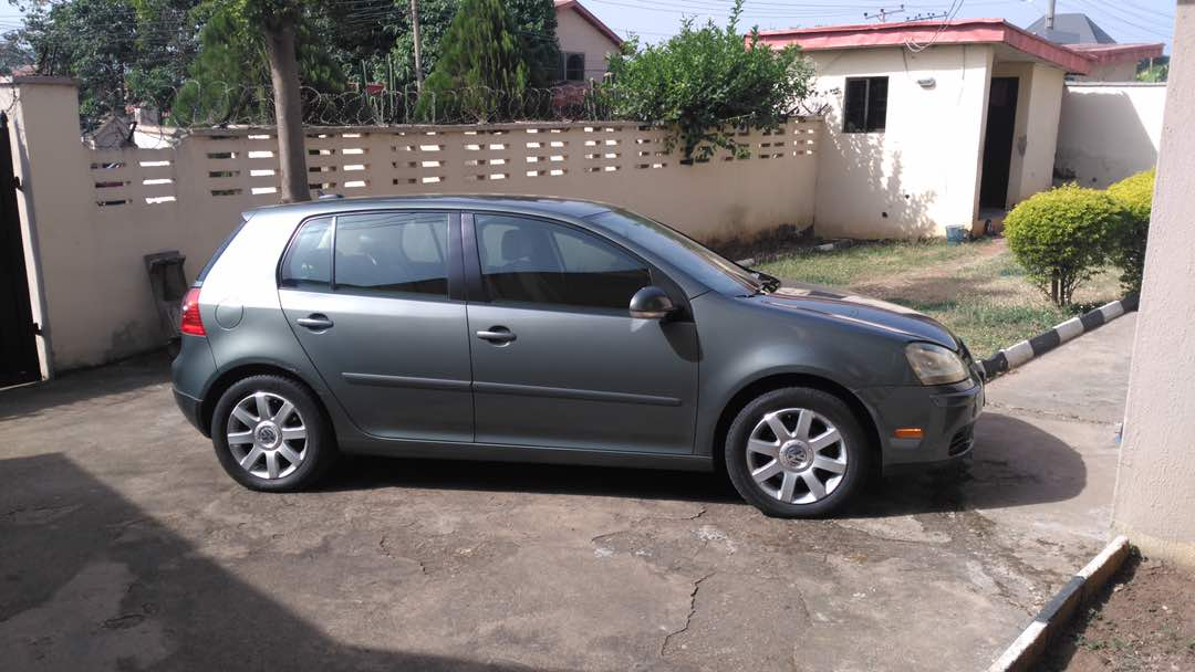 I've got this Golf 4 for sale in Abuja. 800k. Negotiable. DM me off interested. https://t.co/vejU7qczOr