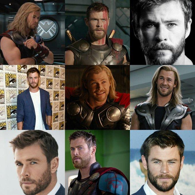 Happy 34th birthday to the God of Thunder, Chris Hemsworth!