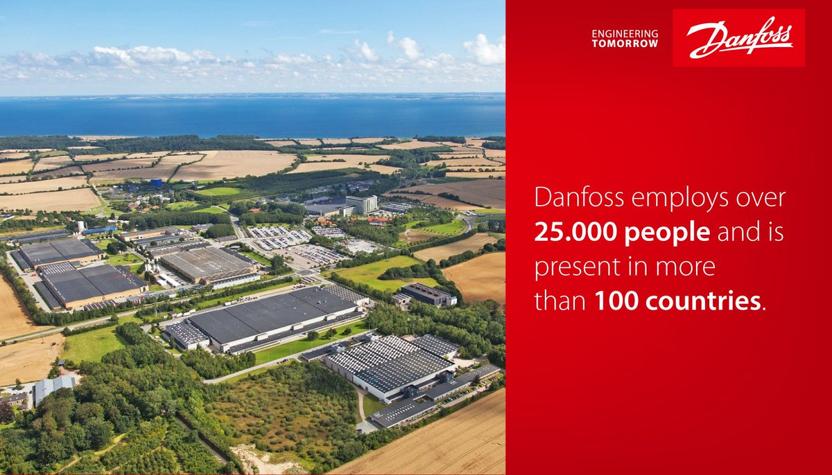 Since 1933, Danfoss has grown into one of the world's leading suppliers of energy efficient and innovative solutions https://t.co/NHLPhTug2p https://t.co/ou8QGVIvXZ