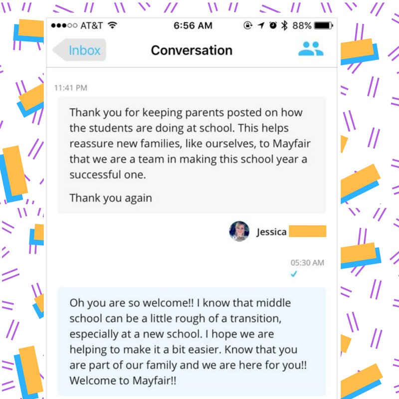 Every teacher would like to get messages of appreciation from #parents. ClassTag teachers find them in their ClassTag inbox   #PTChat<br>http://pic.twitter.com/qfeHzAKsJd
