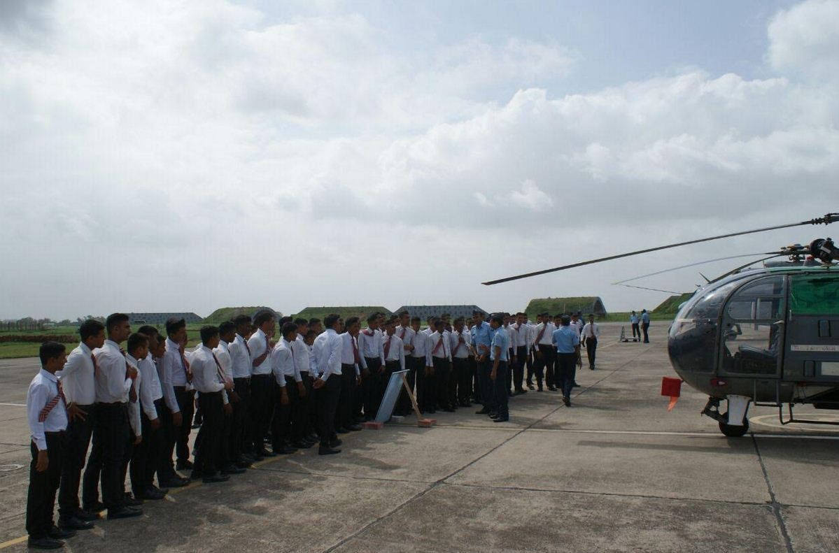 IAF static public display of arsenals also highlights flood operation in Gujarat