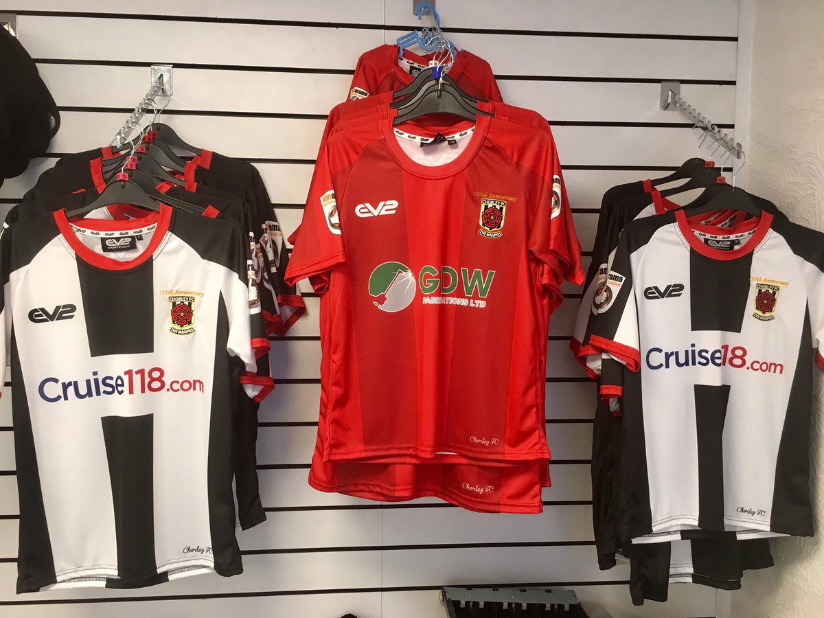 Chorley Fc On Twitter Latest News New Merchandise Is Now Available In The Club Shop Open Today Until 4pm Or Tomorrow From Noon Https T Co H9fdlq1hk5 Https T Co Ko7crxivbe