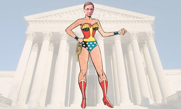 24 years ago Ruth Bader Ginsburg was the 2nd woman in US history to be seated on the #SCOTUS -- congrats #RBG  #Resist #WonderWoman  #History<br>http://pic.twitter.com/OeF9kvnFsk