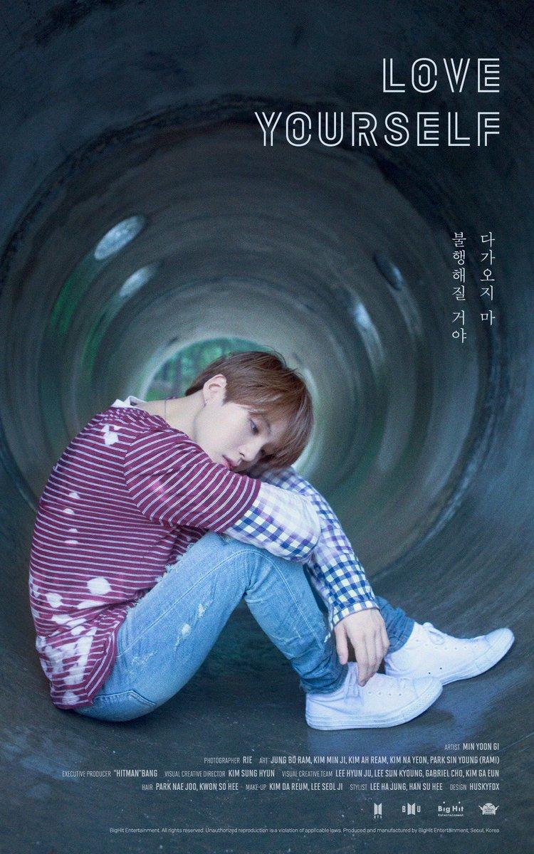 #BTS #방탄소년단 #LOVE_YOURSELF Poster #SUGA...