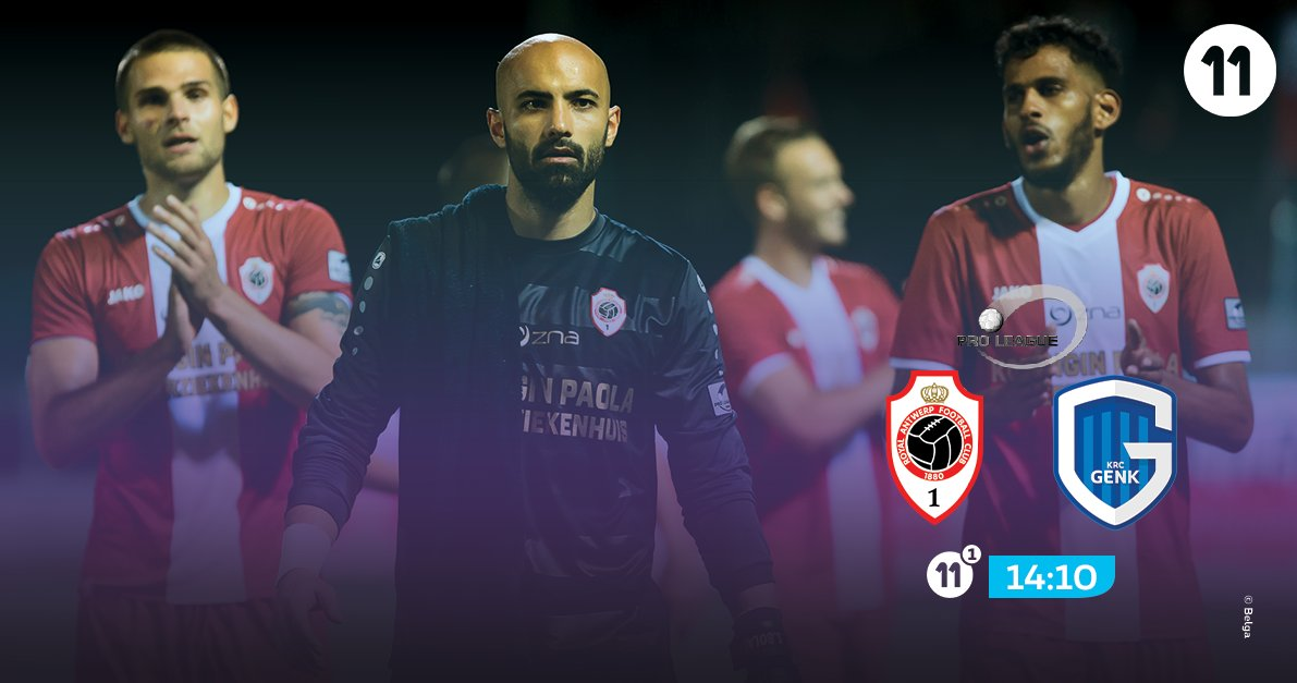 A new big match for @official_rafc against @KRCGenkofficial ! Who will win? Follow the match on Proximus 11. #pxs11 #ANTGNK<br>http://pic.twitter.com/b2nnX2ZCmP
