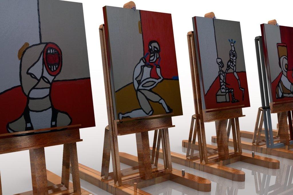 RED SERIE NEW  Oils on canvas  #artnews #paintings #ATSocialMedia #artcontemporain #blackpoolRocks #spdc #paintings #arfair #art #peinture <br>http://pic.twitter.com/SyCEA1J2du