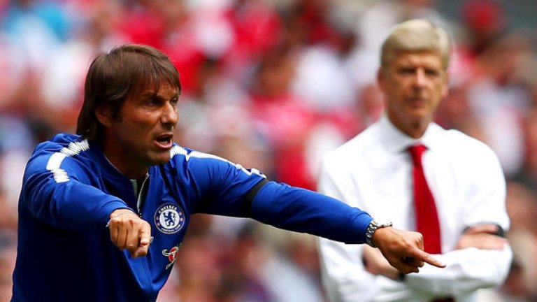 Chelsea boss Antonio Conte hits back at Arsene Wenger over loan stars as he insists they are 'not ready' for the club