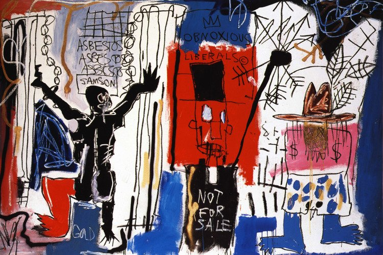 Obnoxious Liberals #basquiat #arthistory<br>http://pic.twitter.com/7Tq1GKtMVC