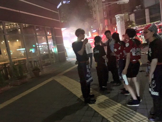 【火事】宇都宮駅東口・山内農場で火災発生「お客さん全員外 ...