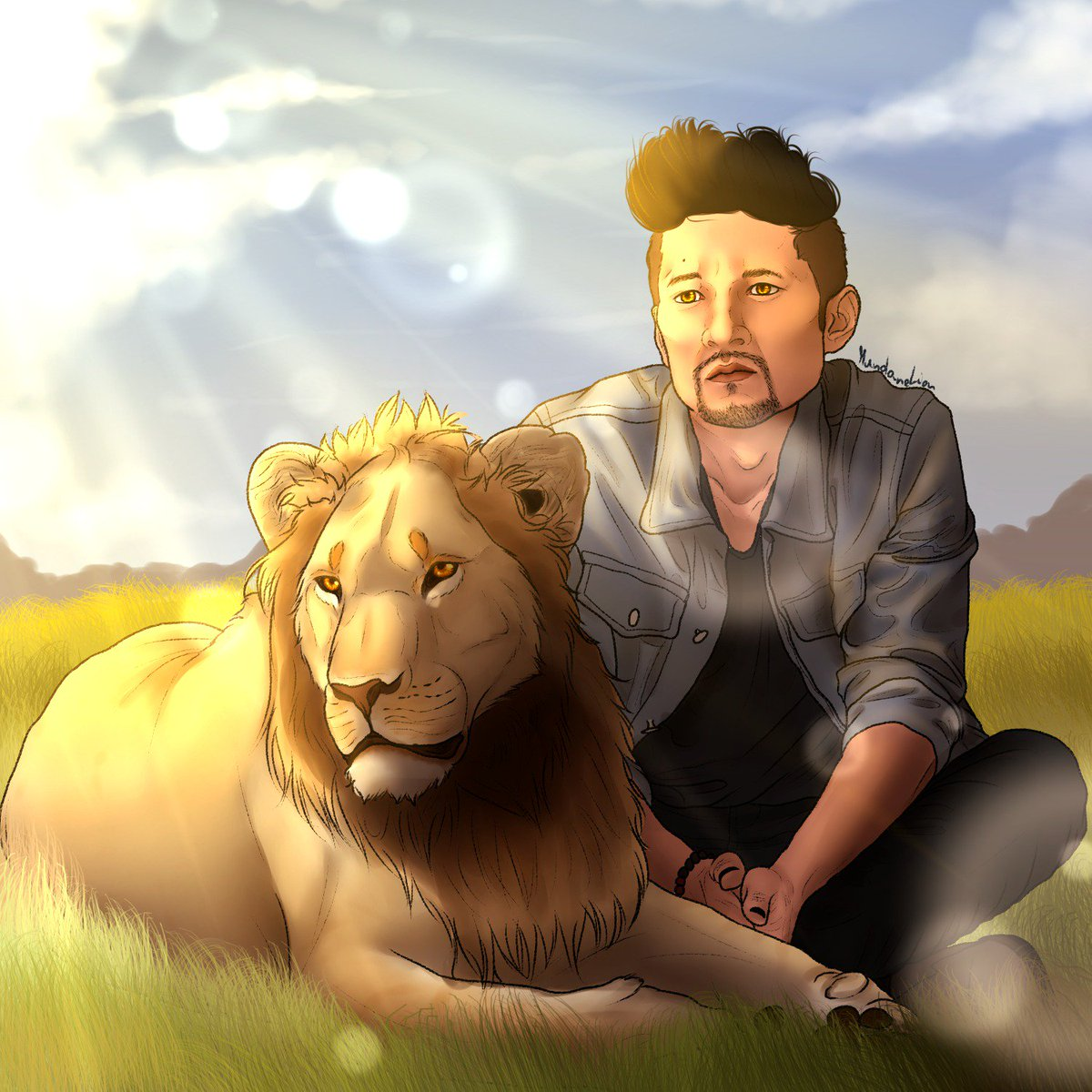 """""""A lion doesn&#39;t concern itself with the opinion of sheep.""""   #Lion #MagnusBane<br>http://pic.twitter.com/pSZKrqbGIj"""