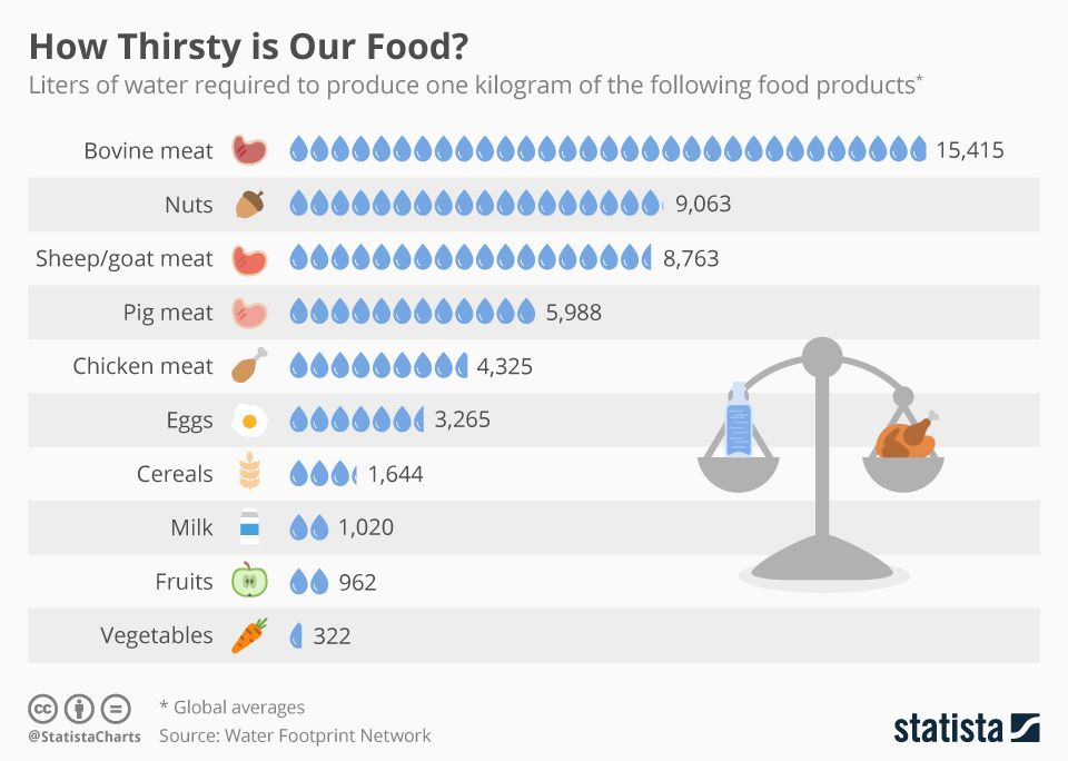 With #water becoming an increasingly rare commodity we will be forced to adjust our diets pretty soon.  https:// buff.ly/2wqZbVE  &nbsp;  <br>http://pic.twitter.com/m4QdnyaGTp