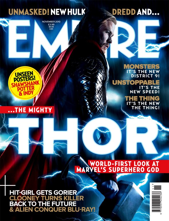 Thor&#39;s various appearances on the hallowed Empire cover over the last few years... #FlashbackFriday <br>http://pic.twitter.com/Y7DGq87EMs