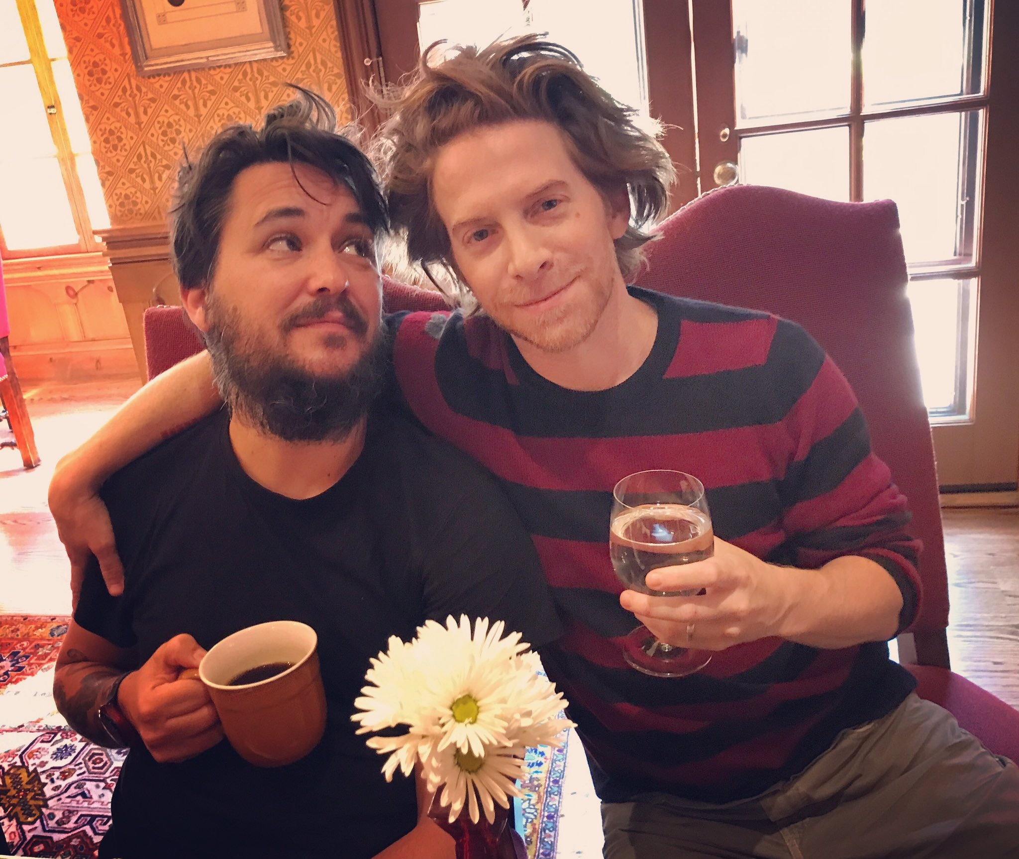 RT @SethGreen: Here's that picture of me and @wilw you didn't know you needed. https://t.co/5tOiKnAVR4