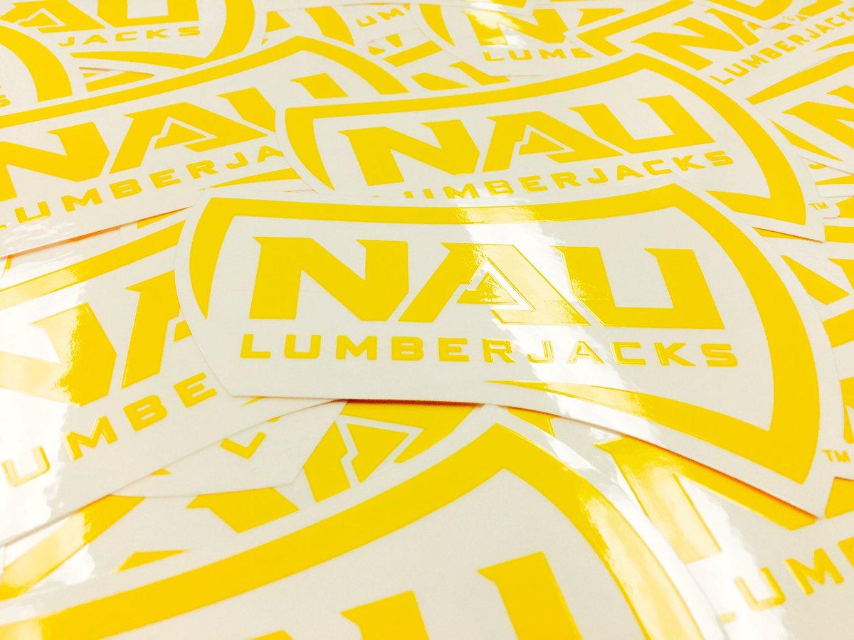 It's #FanFriday! RT to win an NAU sticker - multiple people will win! https://t.co/LujeTowJYW