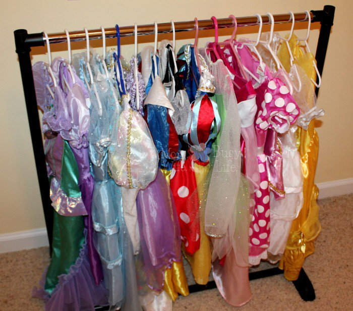 EASY and super affordable #princess dress rack!  ----&gt;&gt;  http:// bit.ly/2vtW4wT  &nbsp;    #kids #children #dresses #momlife #motherhood <br>http://pic.twitter.com/JARsZjgBDQ