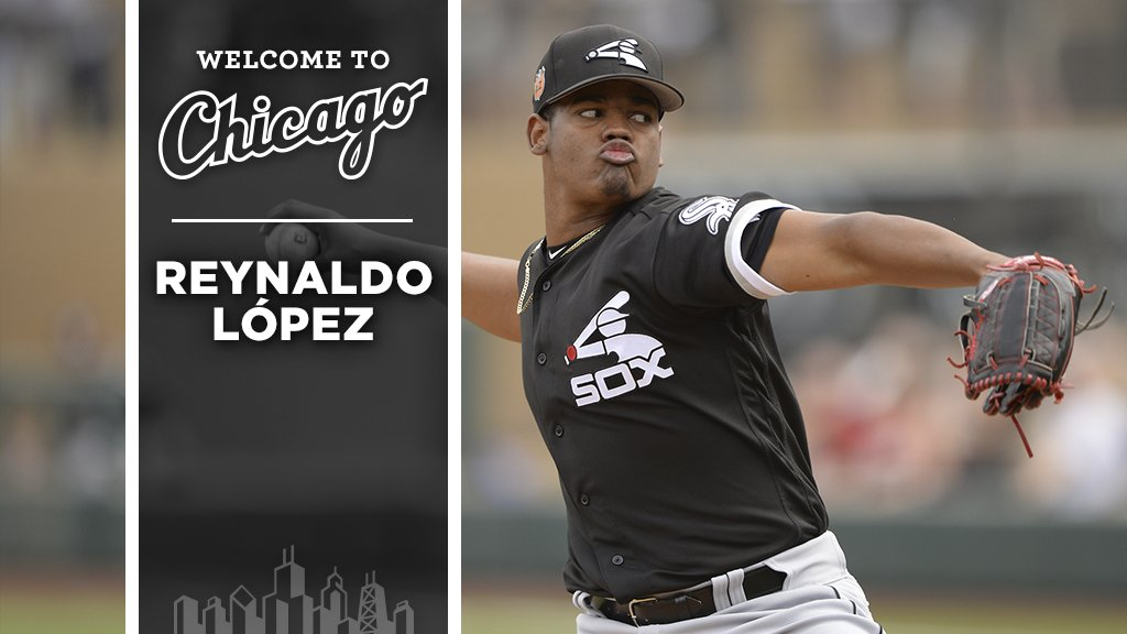 Welcome to Chicago, Reynaldo López! https://t.co/qBP1v5xmk2