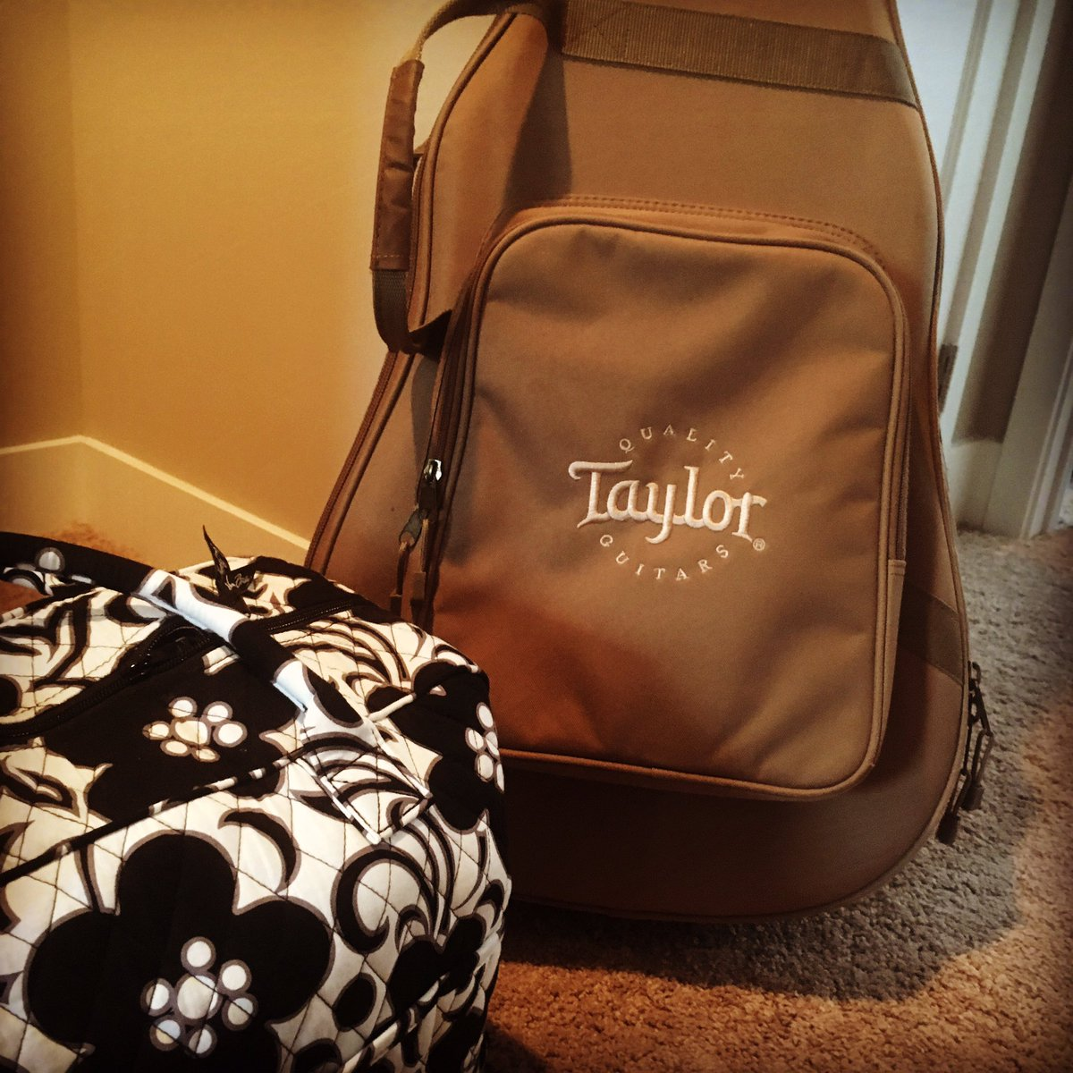 Packin the essentials to the #GreatSmokyMountains    #taylor #guitar #mountains #getaway<br>http://pic.twitter.com/wzM7e2uW2k