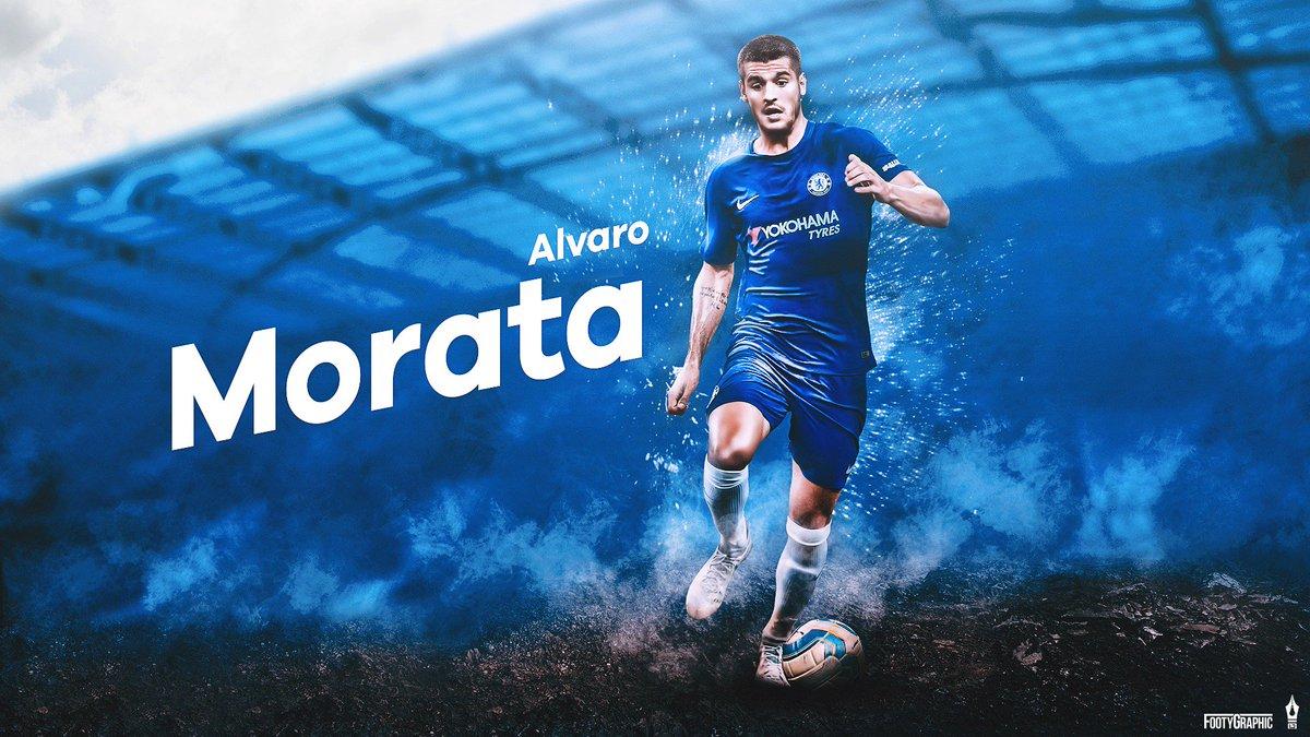 "FootyGraphic On Twitter: ""Alvaro Morata Desktop Wallpaper"