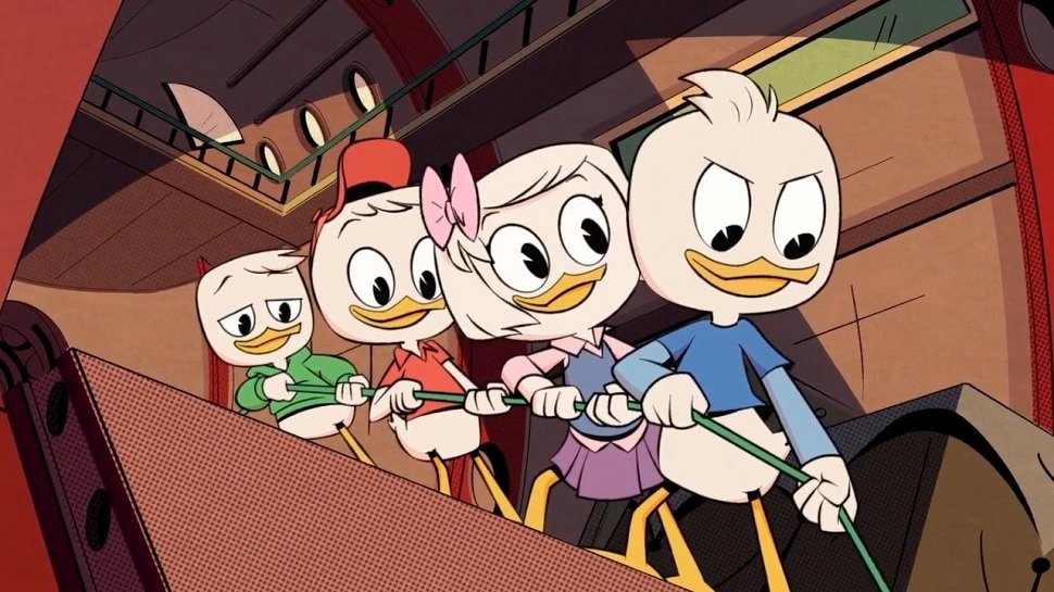 New #DuckTales is a pure comedic adventure you&#39;re going to love. Our review:  http:// nerdi.st/2wBbPCt  &nbsp;   @DisneyXD<br>http://pic.twitter.com/RxKjw5IPBx
