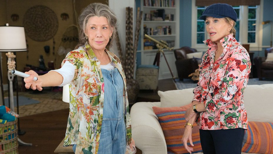 .@GraceandFrankie: @LilyTomlin, @JaneFonda on their first double Emmy nomination https://t.co/a05rkAPzSz https://t.co/3MZZgTTMJo