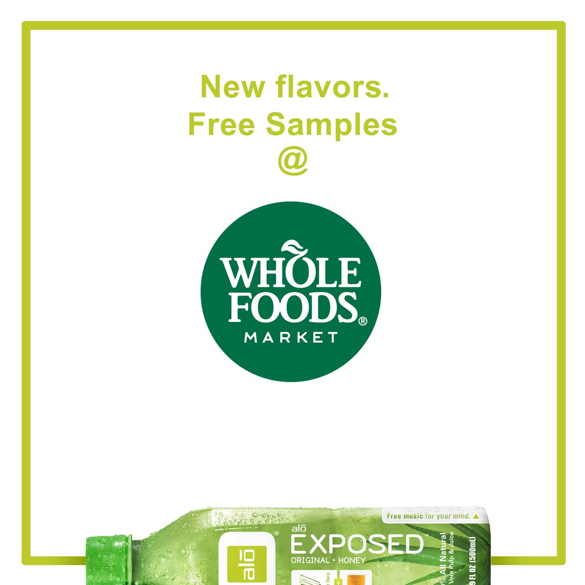 Throughout the month of August, most Whole Foods Market stores will have #ALOdrink on demos! Try our drinks... for #free. #instore <br>http://pic.twitter.com/xJ6EiFOPlU