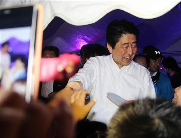 「私も元気になってきた」安倍晋三首相、地元・山口の盆踊り大会であいさつ sankei.com/pol…
