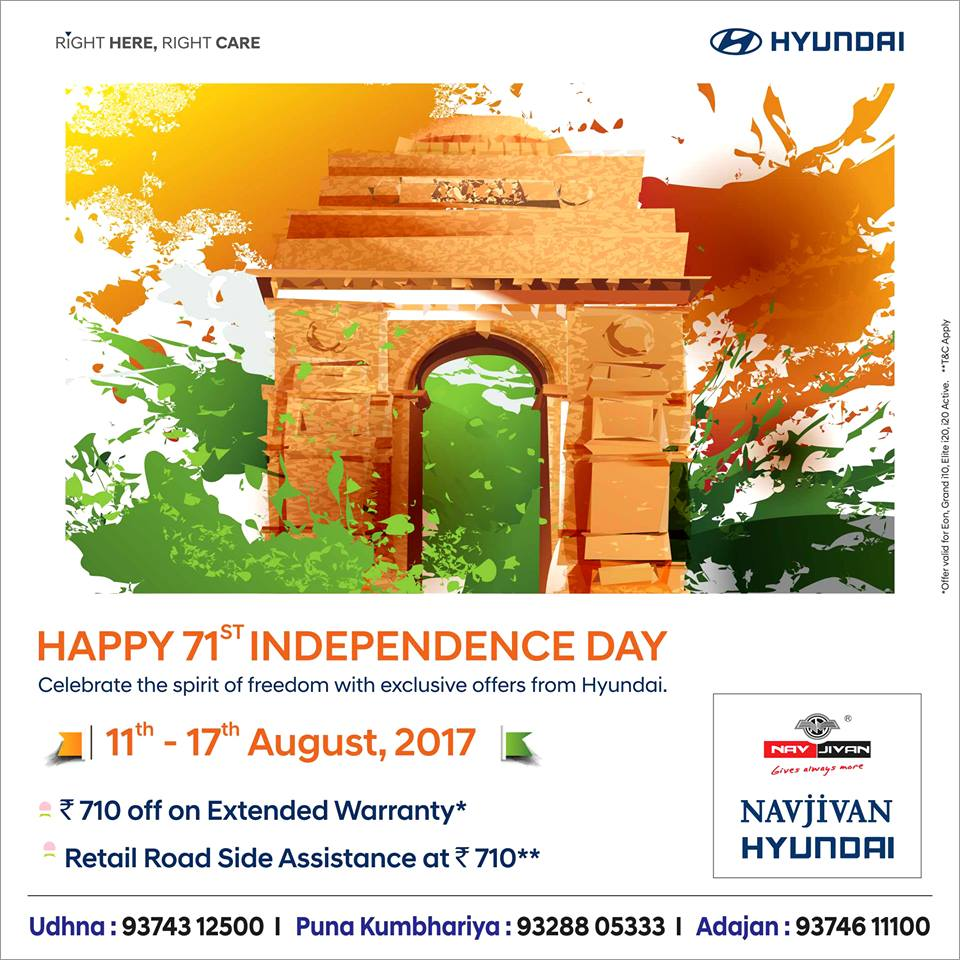 Hyundai Extended Warranty >> Navjivan Hyundai On Twitter Independenceday Extended