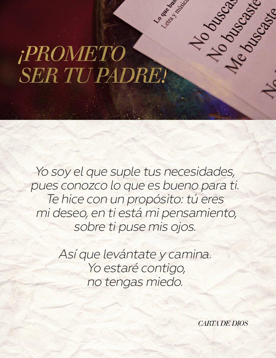 Si Él lo prometió, lo cumplirá. #LoQueBuscasDeMí: https://t.co/PGmslT0...