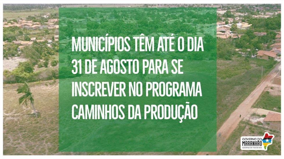 🛣 O programa Caminhos da Produção ajuda os municípios a recuperar estradas rurais e vicinais https://t.co/k9GkTPHo08 #GovernoDeTodosNós