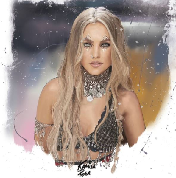 This is unreal! 😍 how did you make it look so real??? @KamilaRosa_ ...amazing! Perrie <3