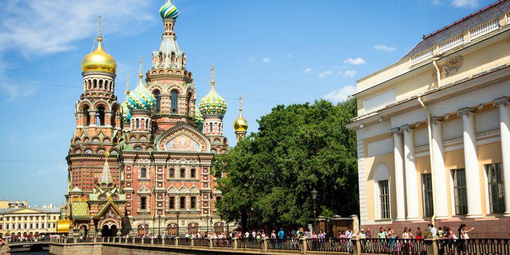 Petersburg port