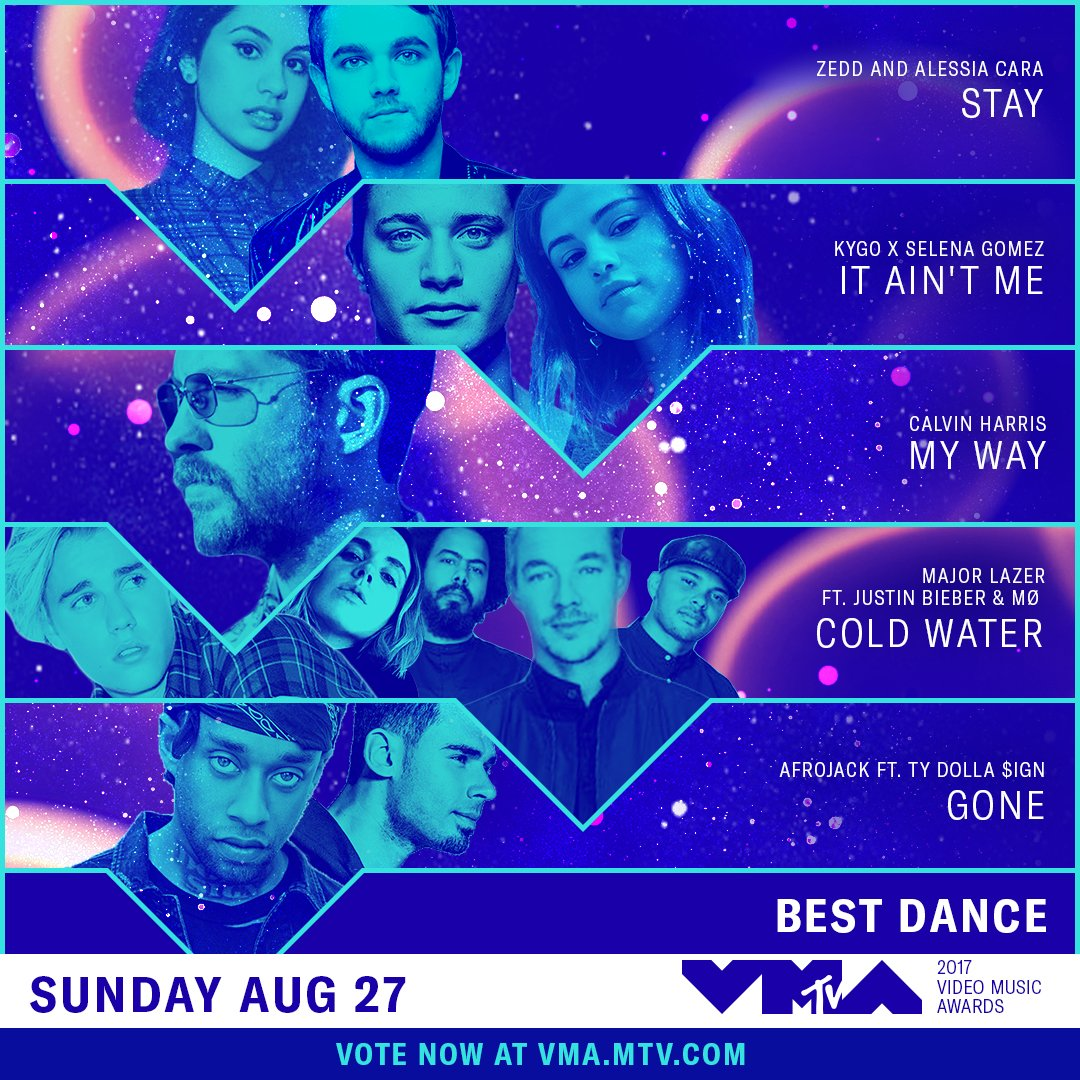 Which of these nominees has your vote for Best Dance at the #VMAs?  https://t.co/SFUVBvoePN https://t.co/TRFWrzU5bE