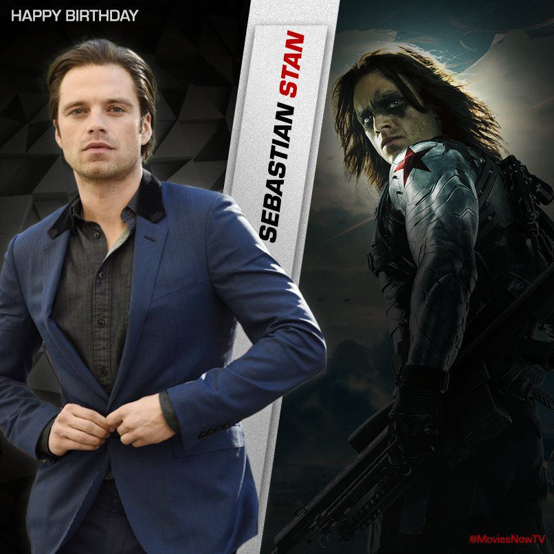 """#HappyBirthday #SebastianStan! """"Sometimes it&#39;s okay to give yourself a pat on the back and say, &quot;That was cool&quot;. That made me feel good."""" <br>http://pic.twitter.com/kPrm9vIvbZ"""