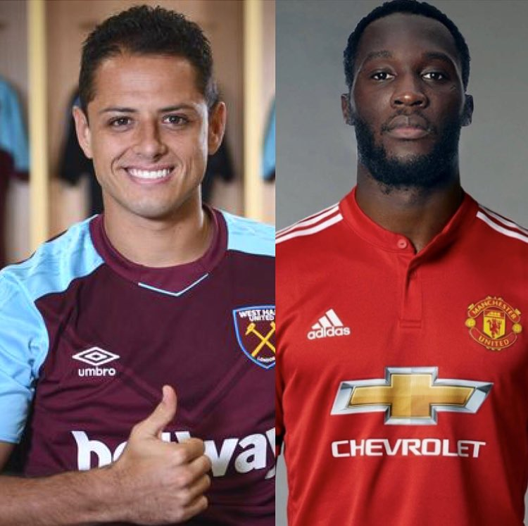 Who's the better signing? ⚽️⚽️⚽️  RT for Hernandez to West Ham (£16m)  LIKE for Lukaku to Man United (£75m) https://t.co/Ba6bsTf7DD