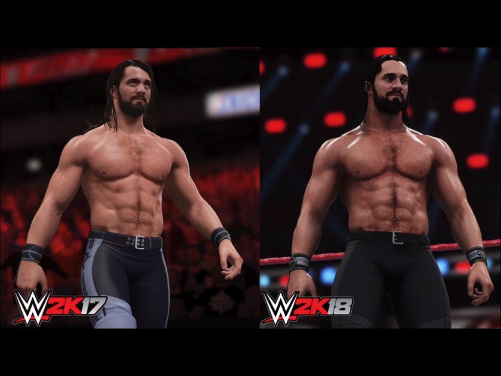 #BeLikeNoOne #WWE2K18 https://t.co/CeSsE2nllV