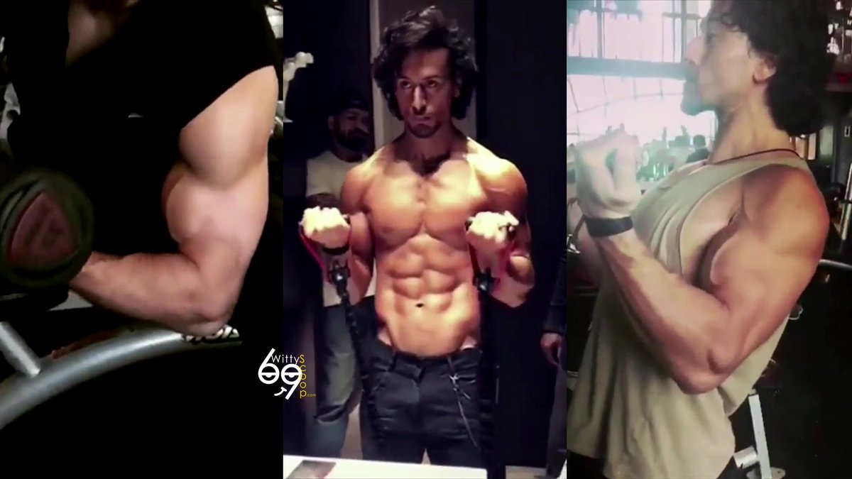 #TigerShroff [@iTIGERSHROFF] Training For #Baaghi2 &amp; #RamboRemake! Watch   https:// youtu.be/nEIiEpDM5xU  &nbsp;    #FitnessFriday #FridayFeeling #gym<br>http://pic.twitter.com/lwBm11eAtc