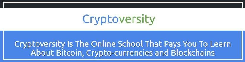 Cryptoversity Bitcoin Foundation Skills Web Class hashtag on Twitter