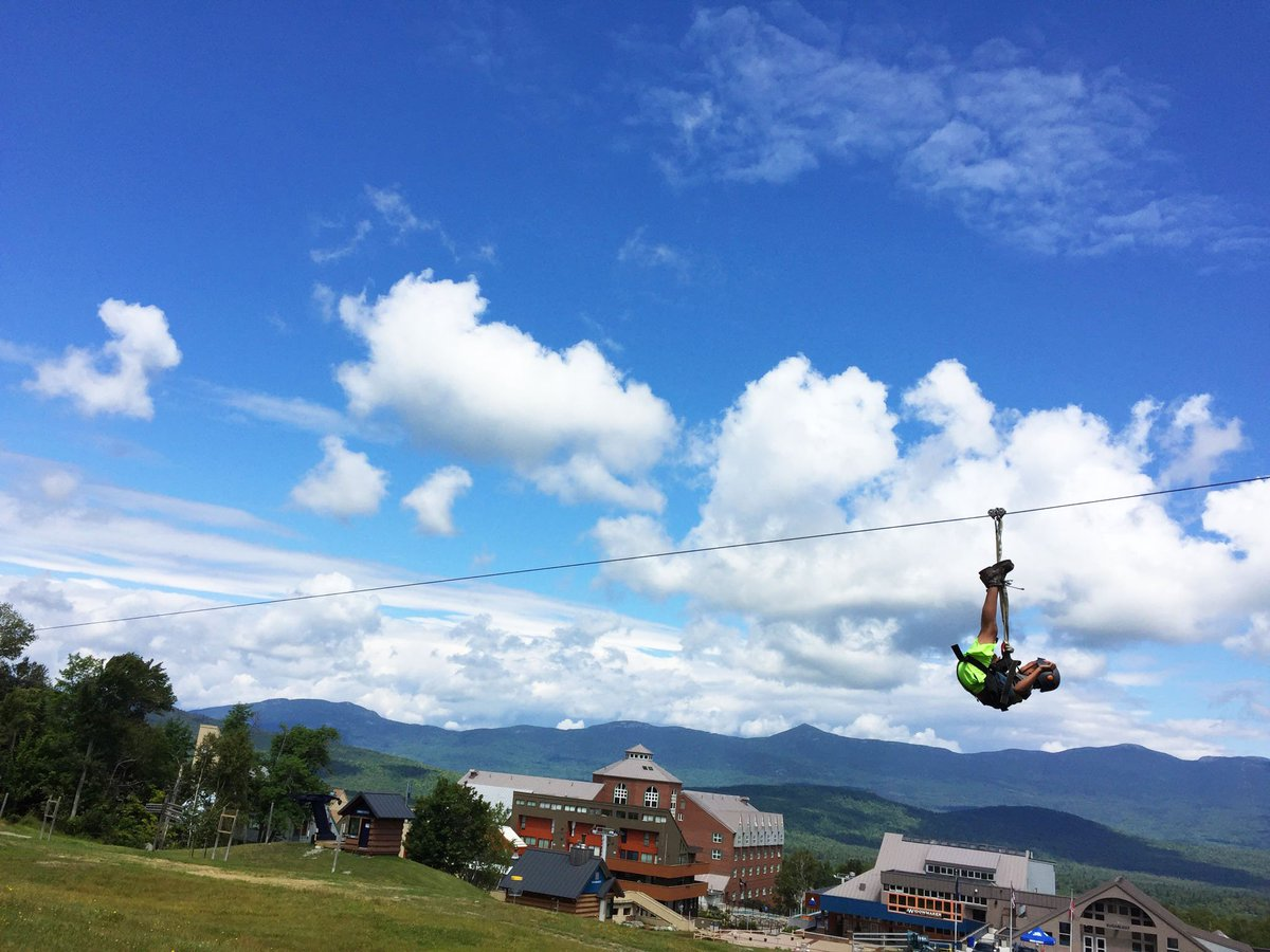 Cruising into the weekend at The Outpost. #theloaf #zipline https://t....