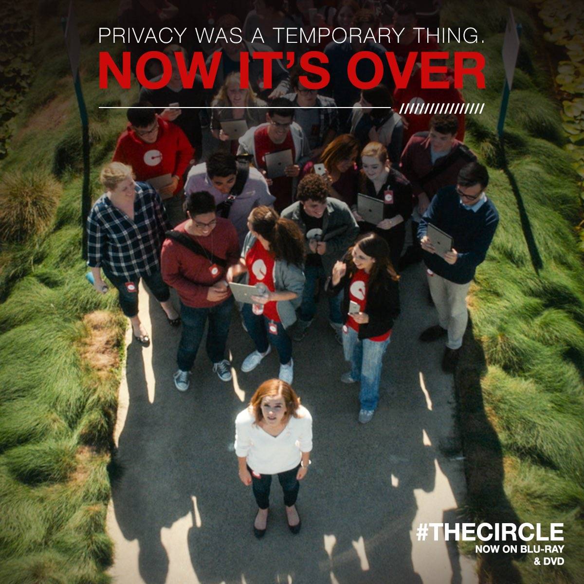 Once you're in #TheCircle, there's no turning back. Watch it now on Blu-ray & DVD. bit.ly/2gXs6hi