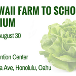 REGISTER for the 2017 Hawaii Farm-to-School Symposium to learn about new resources, procurement strategies and more https://t.co/hYjUntexEG