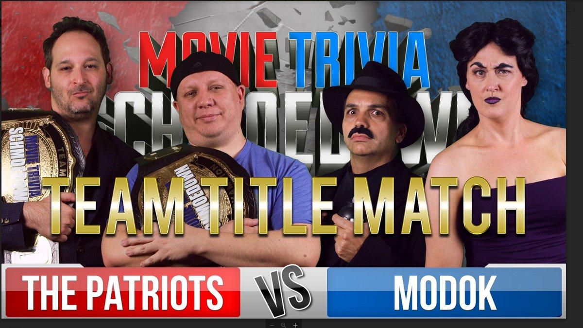 Image result for schmoedown modok patriots