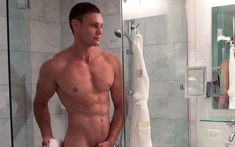 Muscle Gay Shower