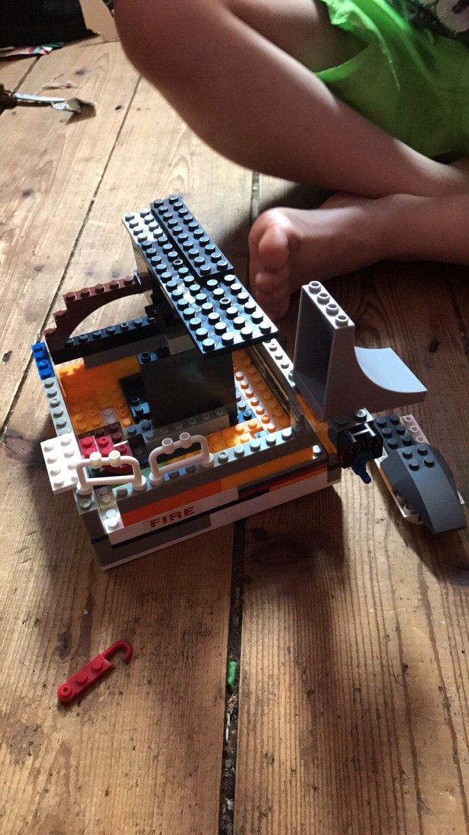 Son made a lego house #dontsquashcreativity #lovehisimagination