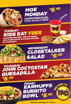 Moes Triangle On Twitter Planning Your Meals For The Week Let