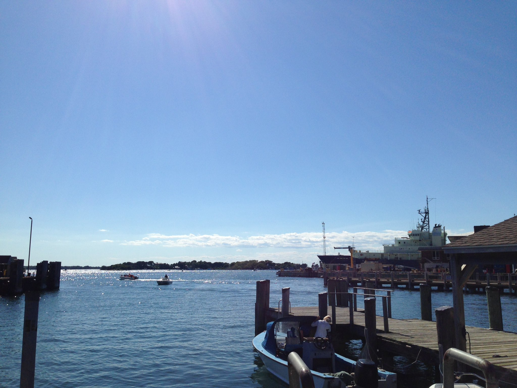 Beautiful day to arrive in Woods Hole. Ready for #STAMPS2017 to begin! @MBLScience https://t.co/O8e3ET7fiT