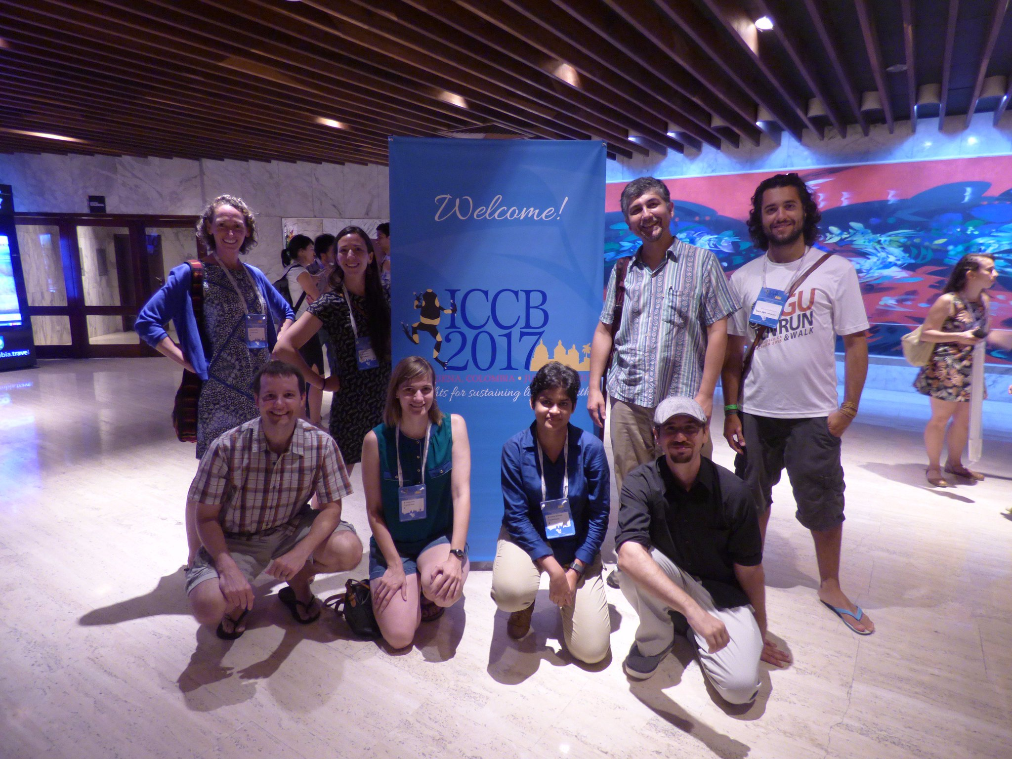 Check out our crop of past, present, and future students representing at #ICCB2017 for #conservation, more to come at #ICCB2019! https://t.co/IxB0PC6xUa